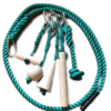 kit 6 pezzi legno corda